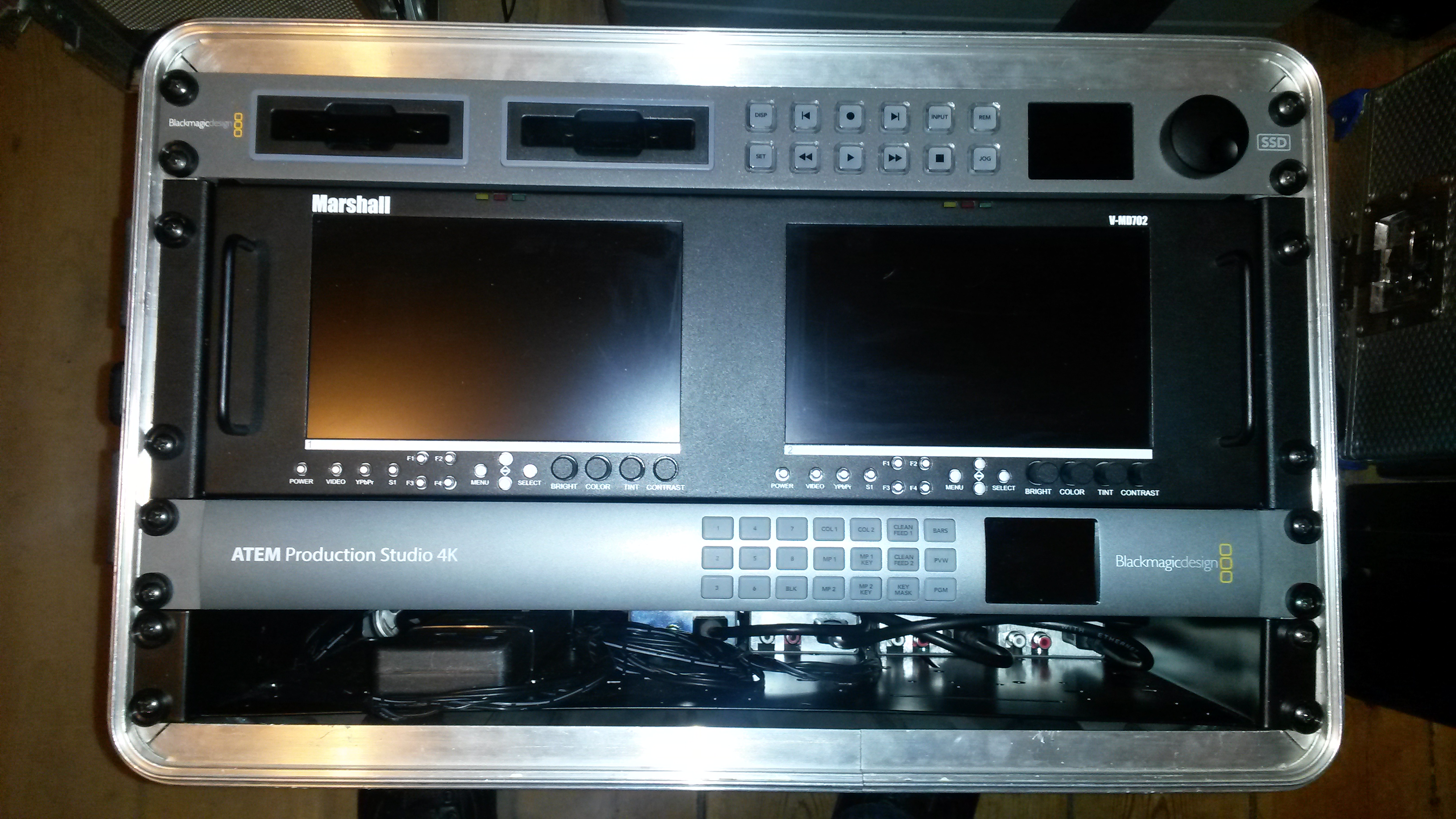 live streaming rack