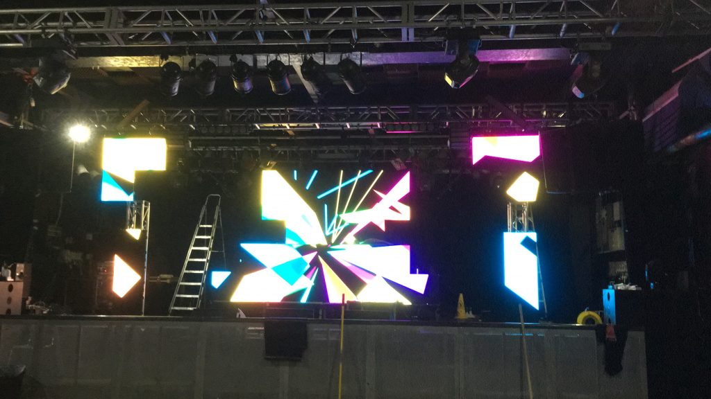 NYE led screen